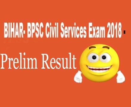BPSC Prelim result 2018