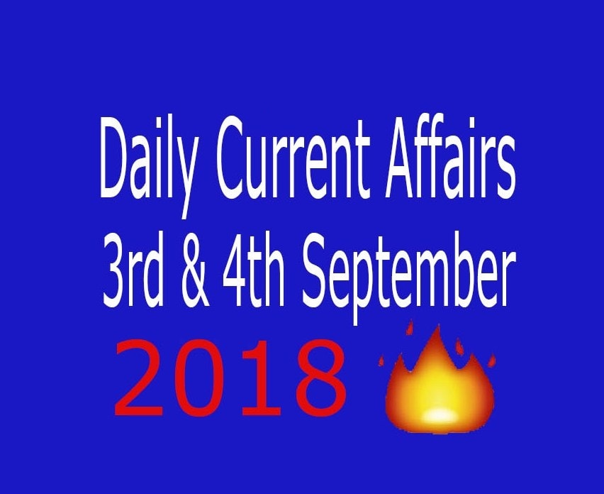 current affairs 3rd september