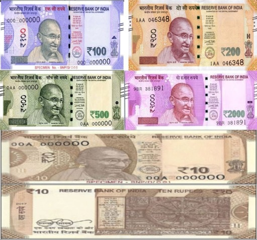 FEATURES OF NEW BANKNOTES
