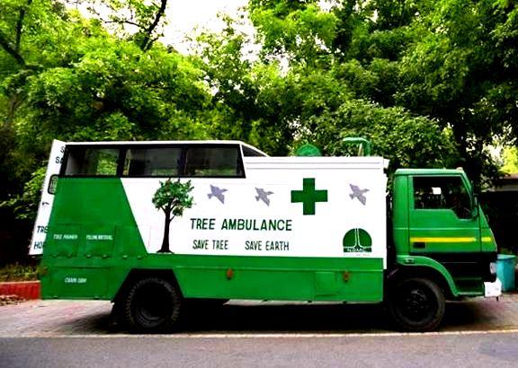 Tree Ambulance - The Hindu Current Affairs 29 May