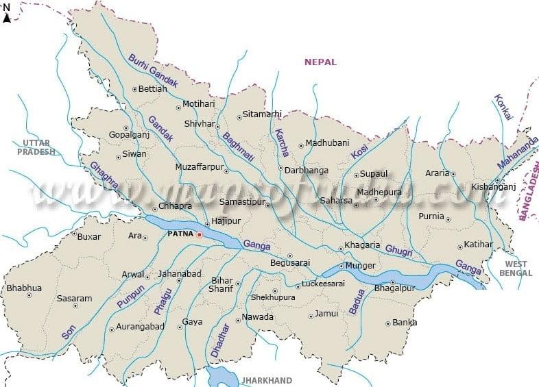Rivers in Bihar