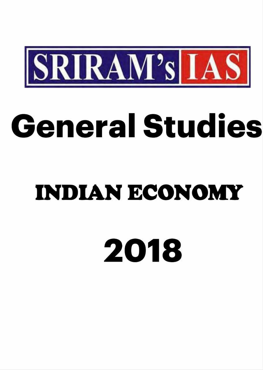 sriram ias economy 2019 pdf