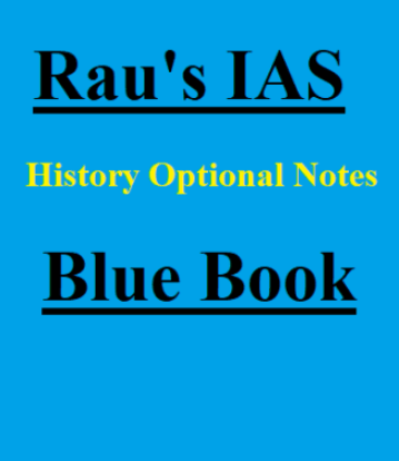 Raus IAS History Optional Blue Book pdf