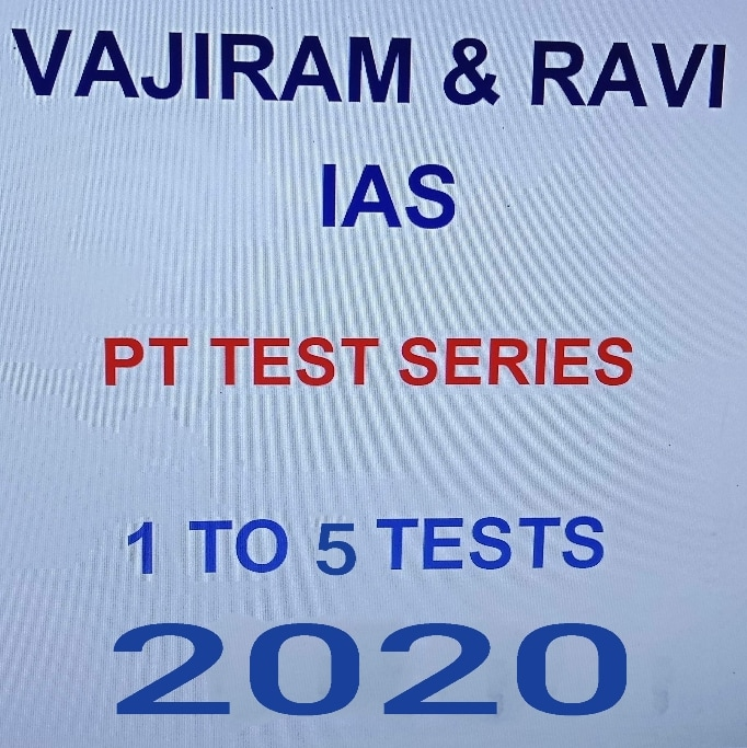 Vajiram & Ravi Prelims Test Series 2020 pdf
