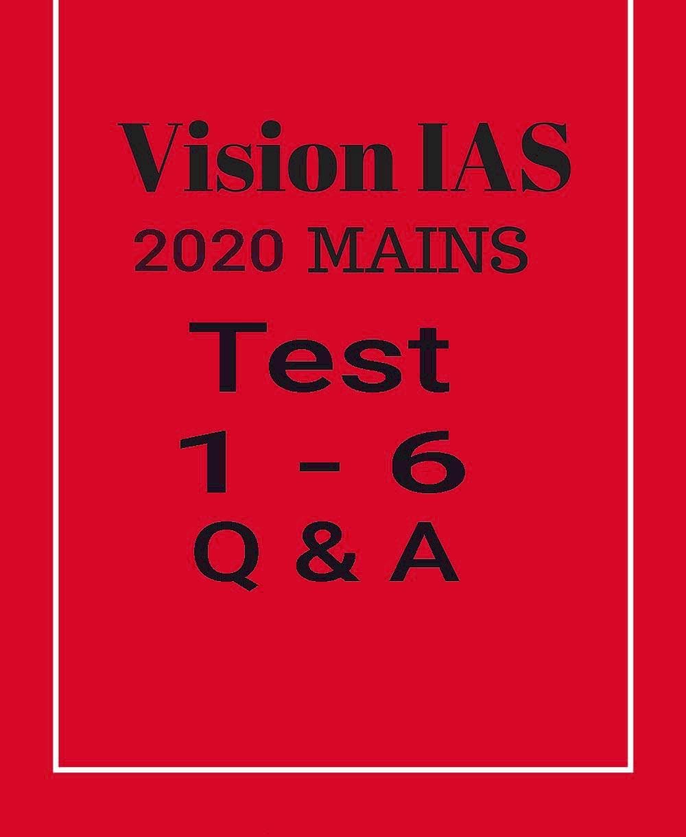 Vision IAS Mains Test 2020 pdf