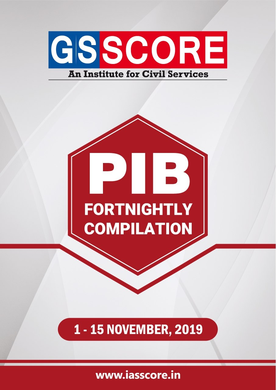Gist of PIB NOVEMBER 2019