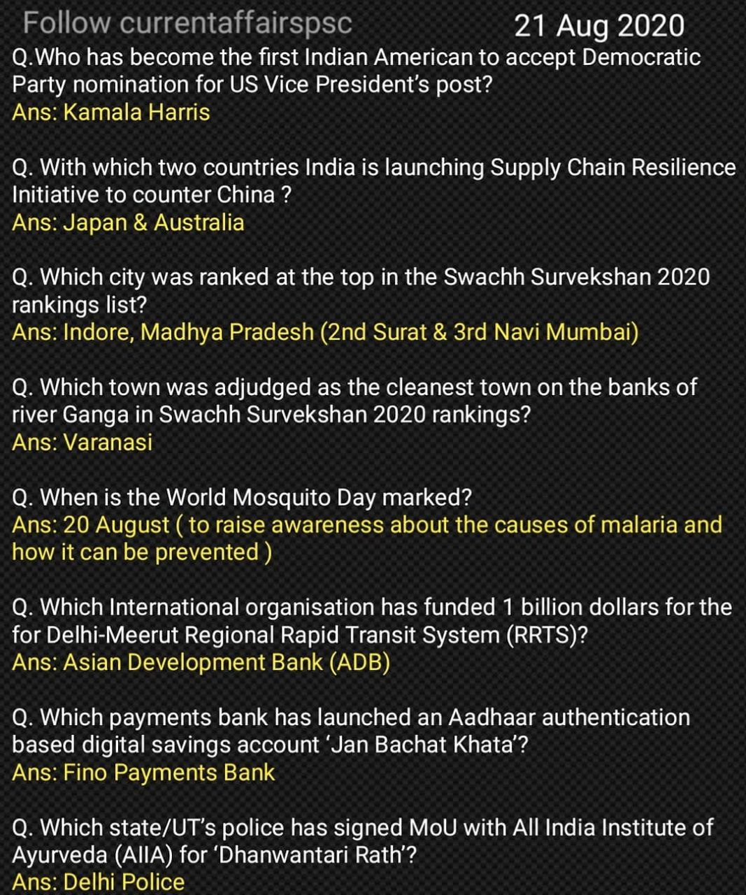 The Hindu Current Affairs August 21